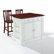 Drop Leaf Kitchen Island Table by Crosley Furniture Kitchen Cart Detrit Us
