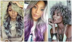 how to tame gray hair new grey haircolor ideas for black women youtube