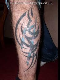 ink tribal leg for