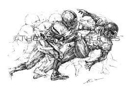 football drawings theartoflax