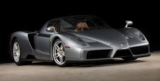 rare ferrari ferrari enzo rare grey with brown interior cars