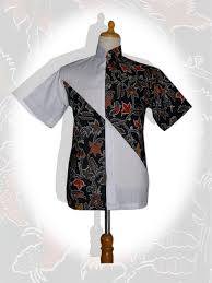 desain baju batik pria 2014 desain baju batik pria modern yang mantap dan model baju batik pria