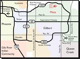 Phoenix Airport Map by Maps U0026 Directions Falcon Field Airport