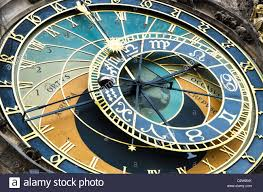astronomical clock in prague was built in 15th century showing