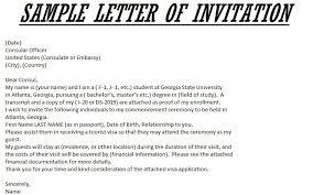 Invitation Letter Us Visa best ideas of sle invitation letter for us visa great invitation