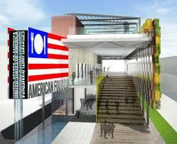 u s pavilion expo 2015 by biber architects