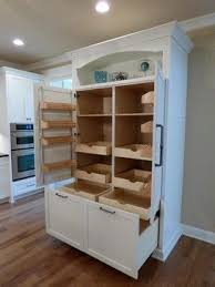 pantry cabinet with drawers before after kitchen pull out drawers and kitchen makeovers