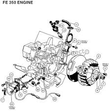 Ignition Part 2 Fe 350 Engine Carryall 2 Plus And 6 Part 2 Club Car Parts