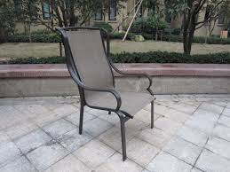 Stackable Sling Patio Chairs Decorating Custom Slings Magnificent Replacement For Patio