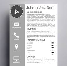 Easy To Use Resume Templates Artistic Resume Template Easy To Edit And Customize Kukook