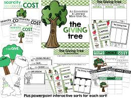 the giving tree firstgraderoundup