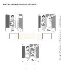 picture sequence worksheets kindergarten esl efl education