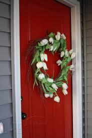 Main Door Flower Designs by Painting Your Front Door Weddingbee