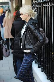 biker jacket trend fashionistas wearing the biker jacket ootd magazine