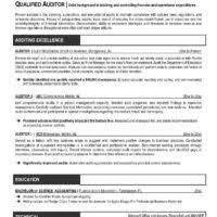 Powerful Resume Samples by Job Wining Auditor Or Audit Manager Resume Template With Summary