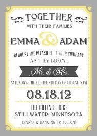 Wedding Invitation Examples Glamorous What Should Wedding Invitation Say 50 In Wedding