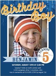 kiddie invites children s birthday invitations for boys