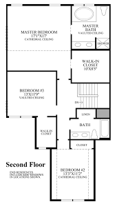 master bedroom plan bowes creek country the townhome collection the eastport