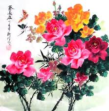 china with roses page 3 paintings china scrolls pictures