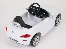 bmw battery car for licensed bmw z4 white limited edition ride on battery operated