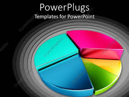 templates powerpoint crystalgraphics powerpoint template colorful division of sectors 23435