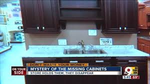 Cincinnati Kitchen Cabinets Mystery Where Did Woman U0027s Kitchen Cabinets Go Wcpo Cincinnati Oh