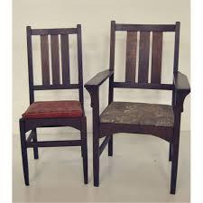 gustav stickley dining room chairs
