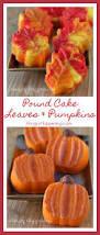 thanksgiving recipe dessert fall dessert pretty pound cake leaves and pumpkins