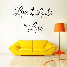 great quality 4 live laugh love wall stickers butterflies wall art great quality 4 live laugh love wall stickers butterflies wall art sticker quote home decoration