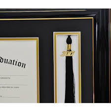 diploma frames with tassel holder high school tassel and diploma frame gradshop