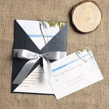 palm tree wedding invitations and palm tree wedding invite with ribbon iwgy079 wedding