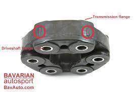 bmw u2013 how to properly install driveshaft flex disc giubo