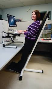 out standing invention replaces unhealthy chair for office workers