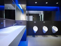 how to make a modern public bathroom toilet with a universal theme
