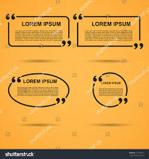 quote blank template quote bubble empty stock vector 317518757