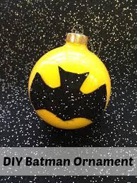 diy batman ornament living a frugal