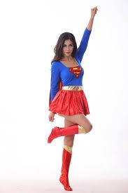 Womens Halloween Costumes 2015 Superwoman Costume Superhero Halloween Costumes