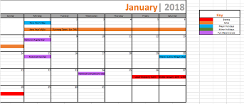 marketing promotional calendar organize sales planning the best way