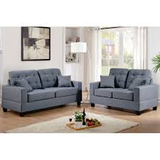 Sofas And Loveseats Sets by Poundex Sofa And Loveseat F 7858