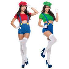 mario and luigi costumes spirit halloween mario and luigi halloween costumes u2013 festival collections