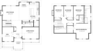 house floor plan 2 floors with house plans and design modern