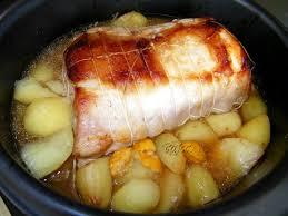 comment cuisiner roti de porc rôti de porc en cocotte au four les petits plats dans les grands