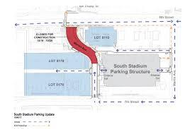 The Warren Floor Plan by Ua Pts Parking Alert Partial Closure On Warren Ave