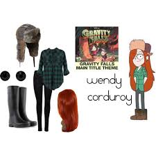 Gravity Falls Halloween Costumes Wendy Gravity Falls Polyvore