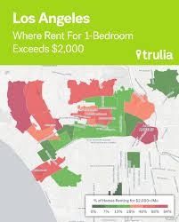 Trulia Heat Map Las Cheapest And Priciest Neighborhoods To Rent In Right Now The