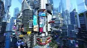 futuristic city 3d screensaver u0026 live wallpaper hd youtube