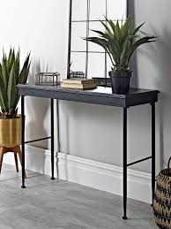 Metal Console Table Antiqued Metal Console Table