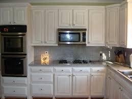 Kitchen Backsplash Ideas With White Cabinets by Backsplash Ideas For Small White Kitchen Home Improvement