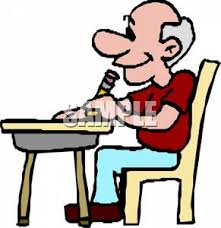 Picture Of Student Sitting At Desk Good Student Sitting At Desk Clipart Clipart Panda Free