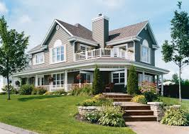 Home Plans with Porches Best French Country House Exteriors